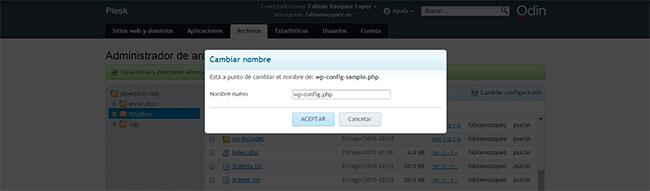 Instalar WordPress - Paso 9