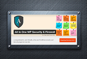 All in one Wp Security & Firewall - Seguridad para Wordpress