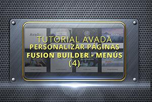 Configuración personalizada en Avada - Tutorial 4