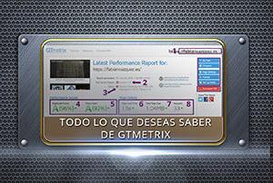GTmetrix. Evaluar velocidad y rendimiento en Wordpress