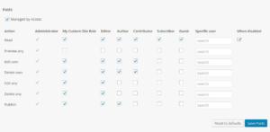 Control de acceso a roles con Access