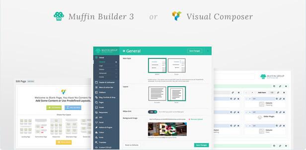 Visual Composer de serie con BeTheme