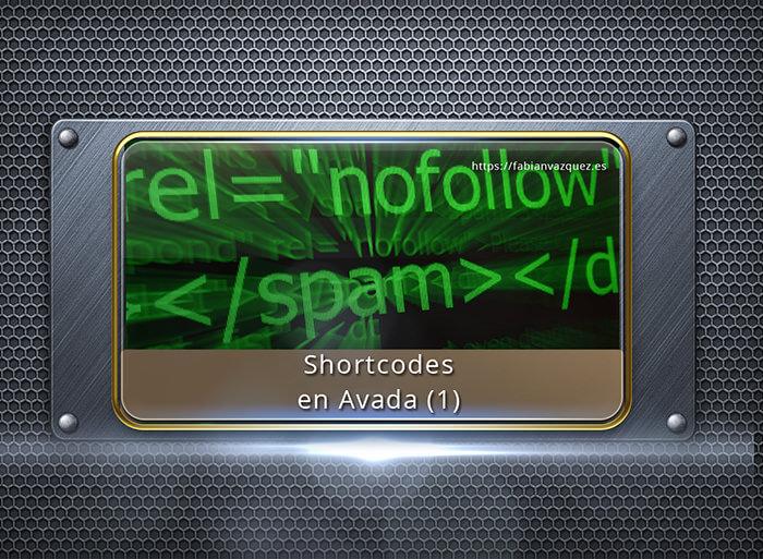 Shortcodes en Avada - Aprende a configurar los principales