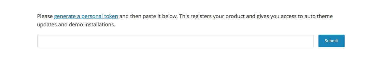 Registro en Avada 5.0