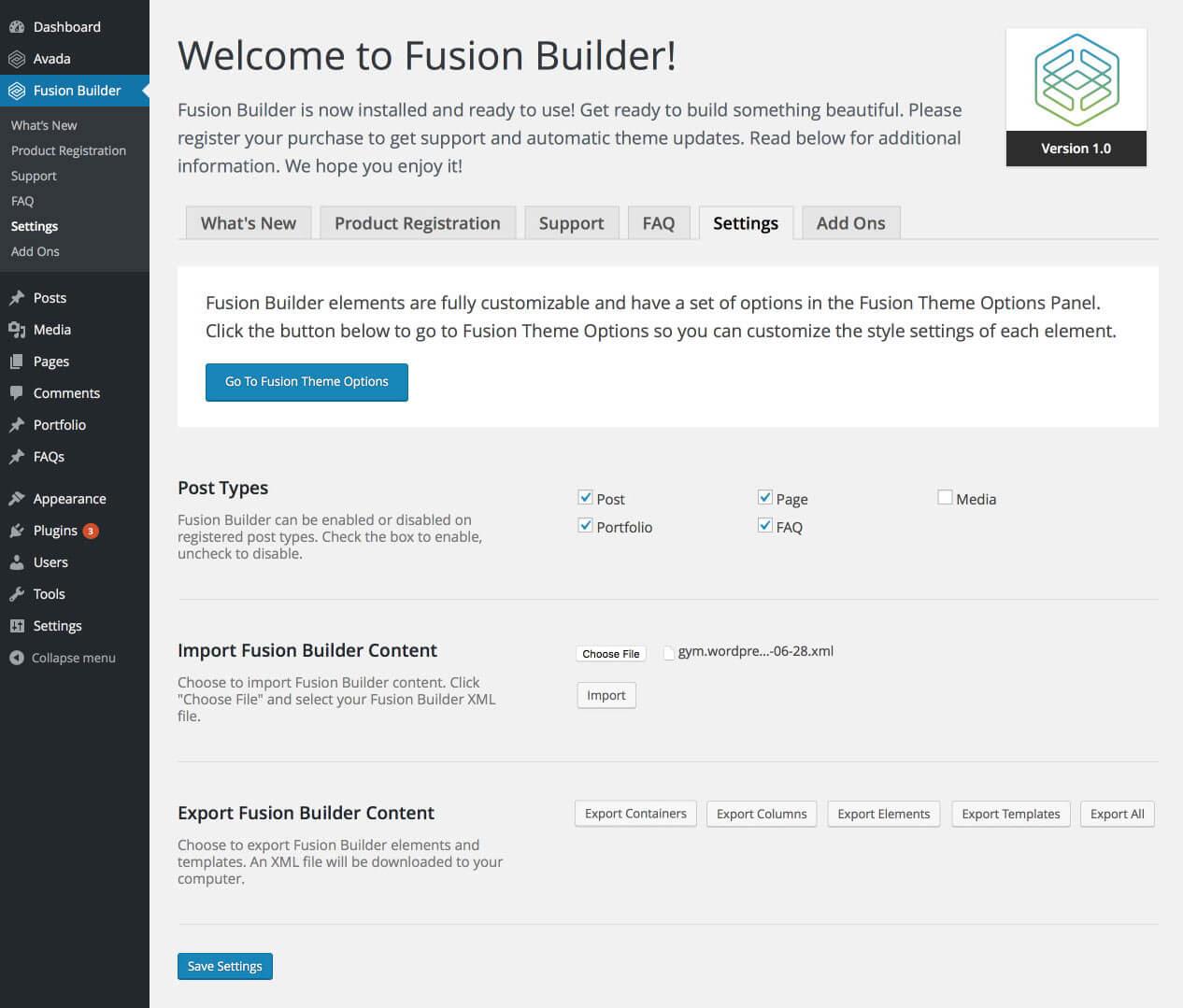 Bienvenida a Fusion Builder